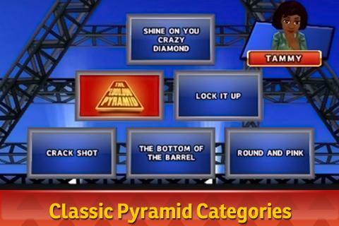 Screenshot The $1,000,000 Pyramid™