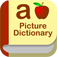 Kids Picture Dictionary : A to Z educational app for children to learn first words and make sentences with fun record tool!