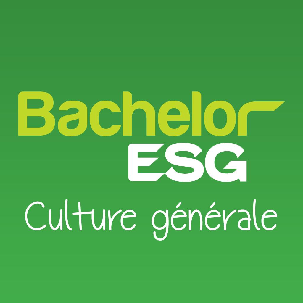 Bachelor ESG Culture Générale