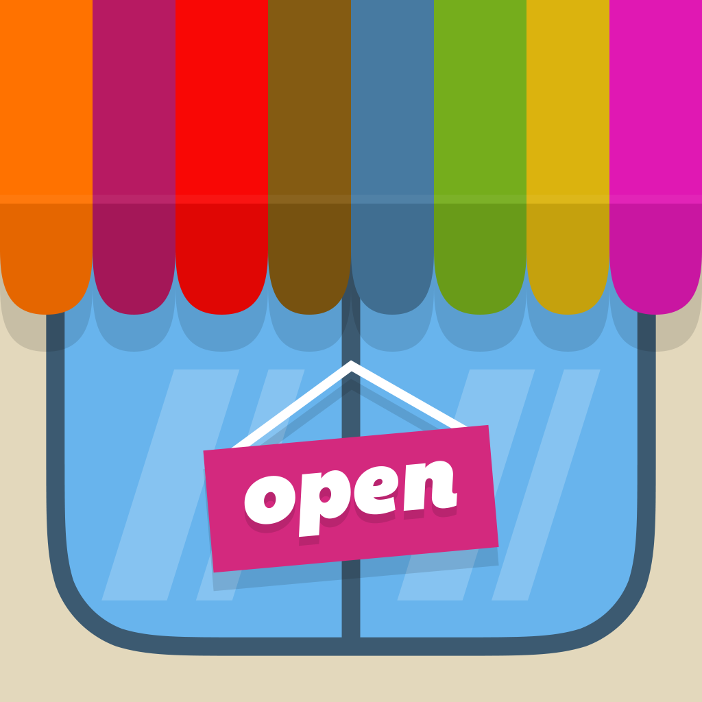 iPad: »Storest - Kids Love Playing Store, And Now They Can Create A Real Store With Paper!«